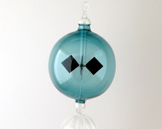 1223 Hanging Radiometer Orchid painted