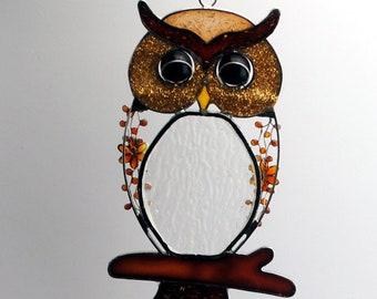 6058 Radiometer Tiffany style Owl