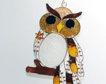 Radiometer Tiffany style Owl