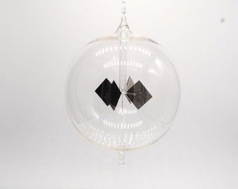 Extra Large Clear Round Radiometer