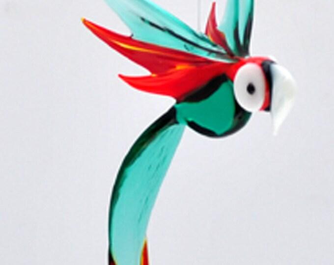 e36-157 Medum Parrot - Teal