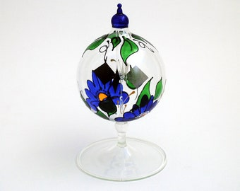 Tabletop Radiometer Floral painted
