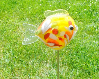 Fish Garden Sculpture