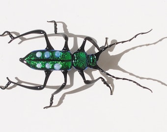 30-12 Green Tiger Beetle