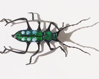 30-12 Green Tiger Beetle