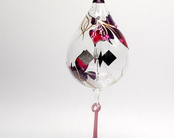 1001/6 Ts Hanging Radiometer Orchid painted