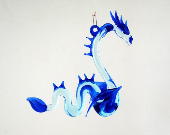 36-910 Large Sea Dragon Aqua Cobalt