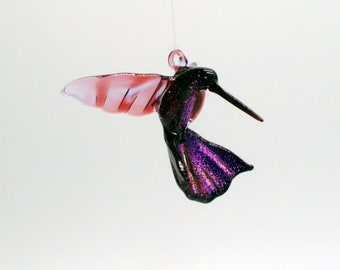 36-257dd Hummingbird Simone with Dichroic tail and body