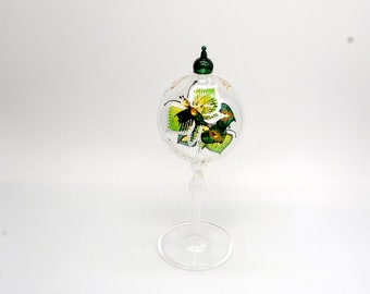 Tabletop Radiometer Butterfly painted