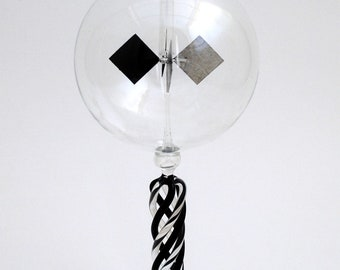 Tabletop Radiometer Braided Black