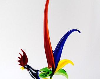 Harlequin Rooster
