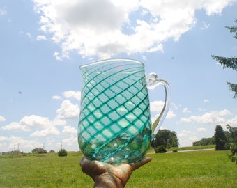 Malachite Melody Pitcher