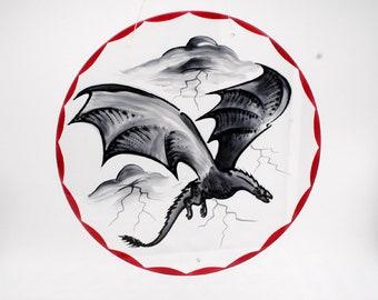 Painted Dragon Pane