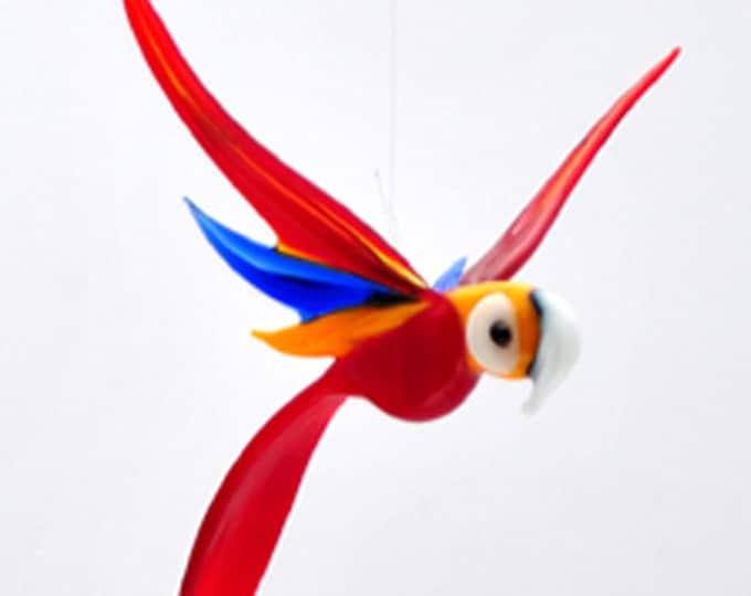 e36-157 Medum Parrot - Red