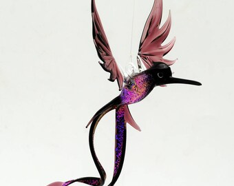 36-701 Purple Doctor Bird with Dichroic
