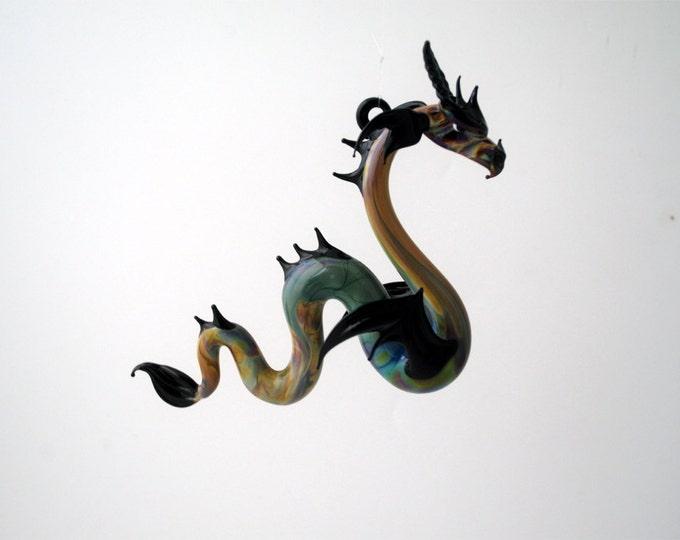 36-910 Large Sea Dragon Multi Black