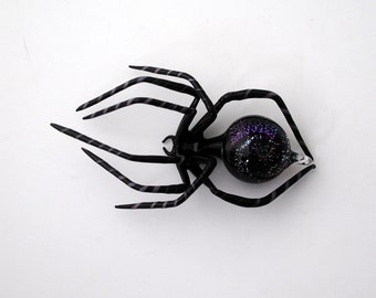 Medium Dichroic Spider with Galaxy in Abdomen