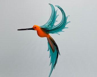 36-210 Hummingbird Orange Teal