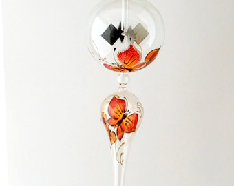 Hanging Radiometer Butterfly painted
