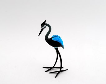 e33-40 Standing Blue Heron