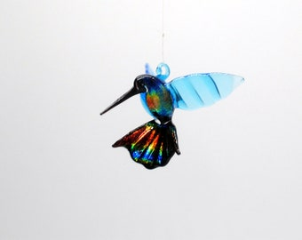 36-257dd Hummingbird with Dichroic tail and body