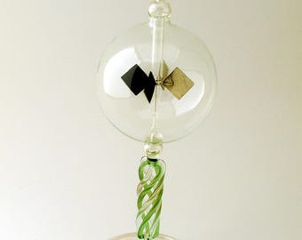 Tabletop Radiometer Braided Green