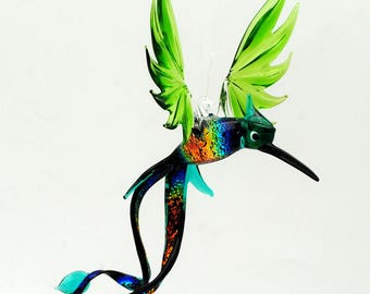e36-701 Green Doctor Bird with Dichroic