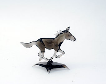 Gray Horse on Base