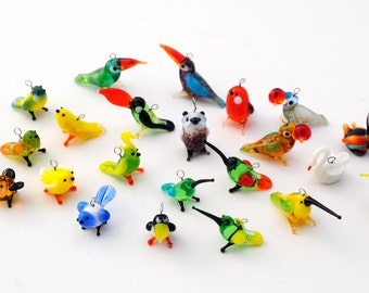 Miniature Animal Earrings (1 pair of earrings for price shown)