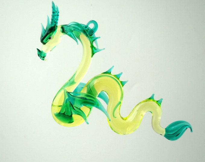 36-910 Large Sea Dragon Green Neon