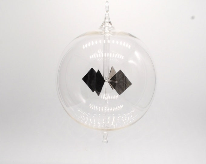1015 Large Clear Round Radiometer