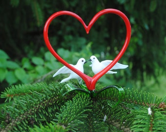 Dove with Heart