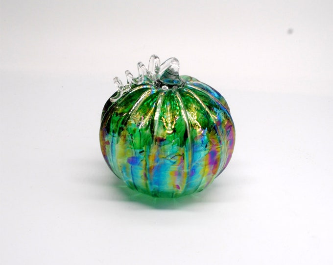 00-60 Iridescent Pumpkin (Emerald)