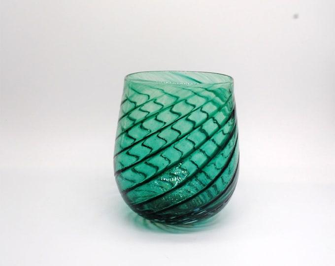 Malachite Melody Glass