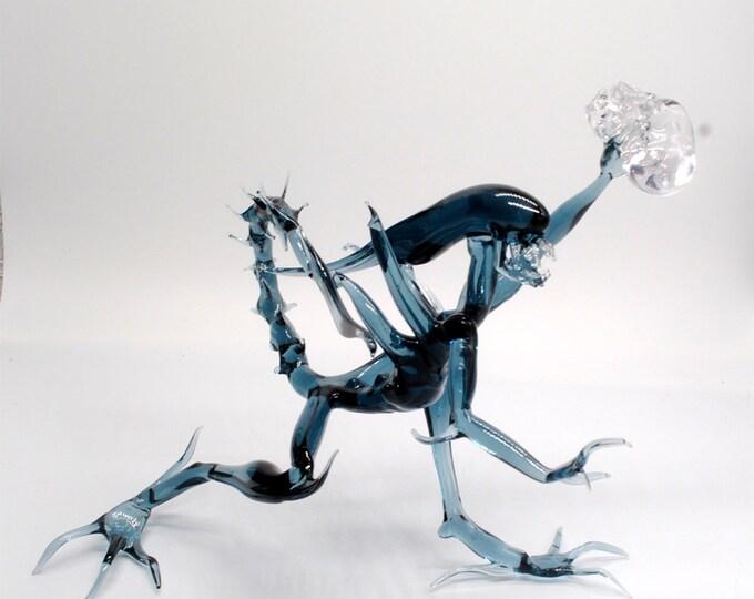 Alien with Skull