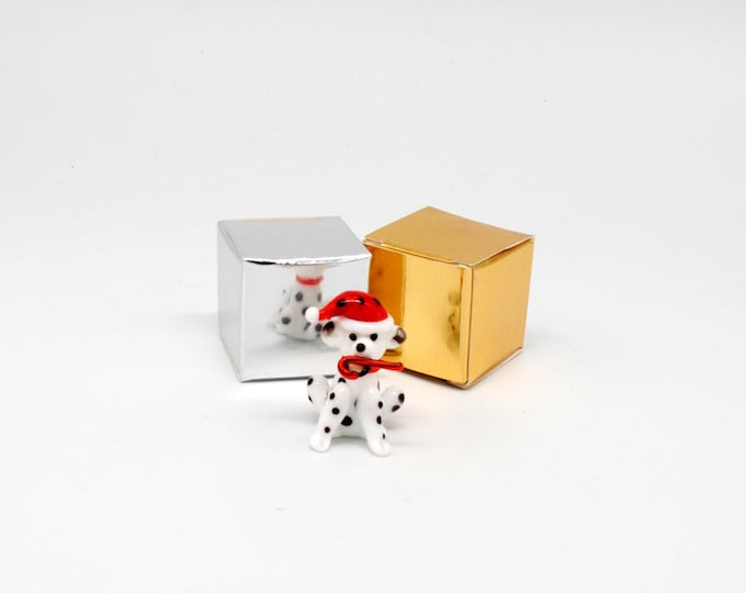 Miniature Dalmatian with Candy Cane