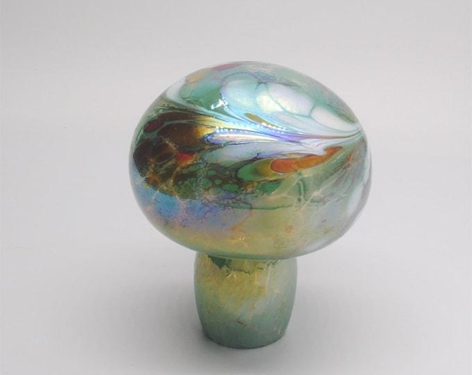 00-60 Iridescent Mushroom (Green)