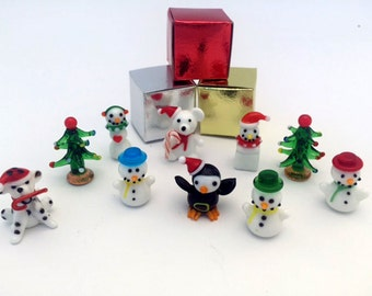 Christmas Miniatures (1 piece for price shown)