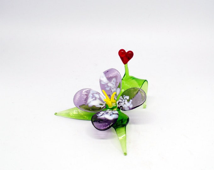 Flower with Heart