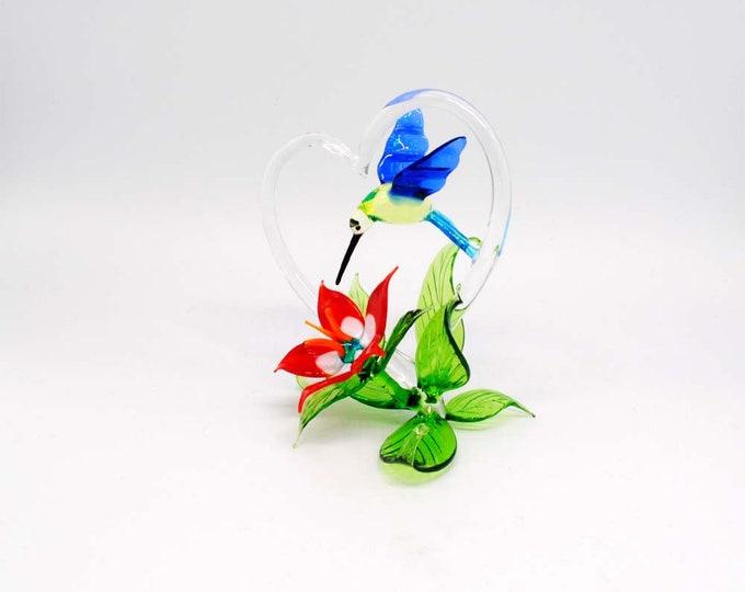 Hummingbird with Heart