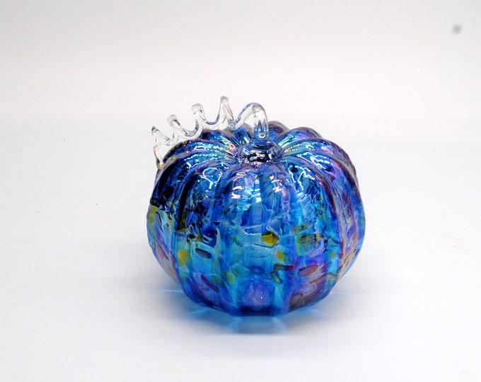 00-60 Iridescent Pumpkin (Blue)