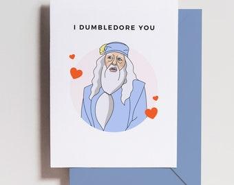 Harry Potter houses digital art Interfaith wedding or anniversary card funny