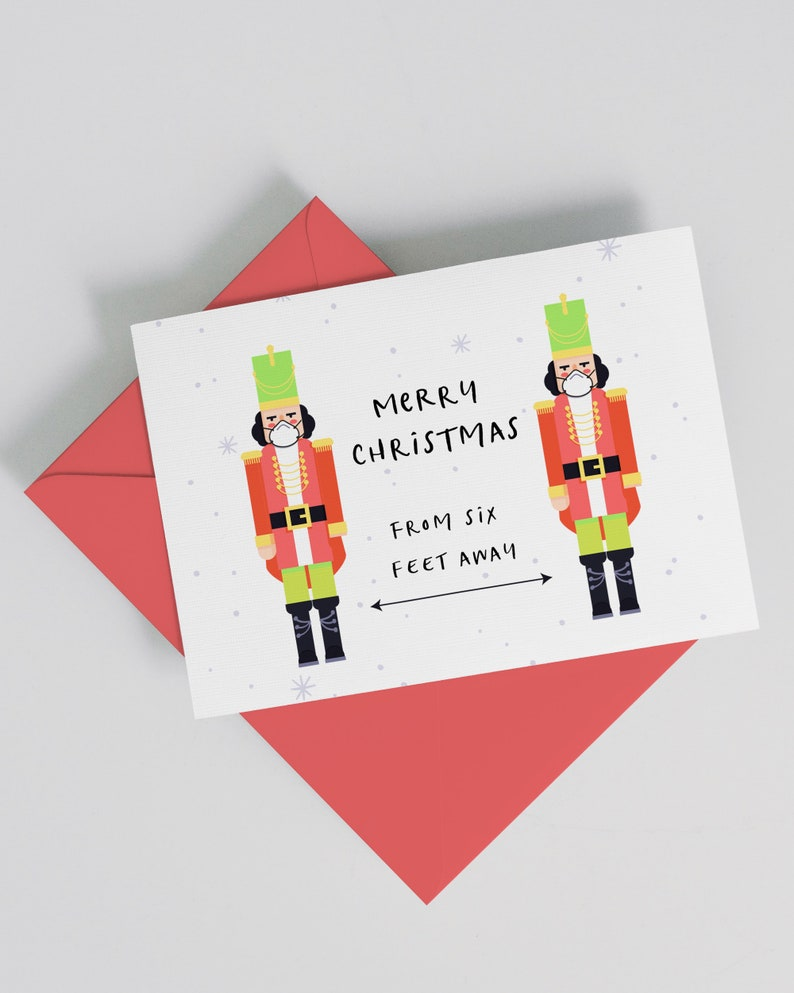 Funny 2020 Christmas Card Merry Christmas and Happy New Year image 1