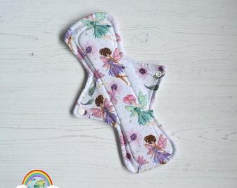 "ER Original - 11"" Night - Jersey - Fairy - CSP - Menstrual Cloth"