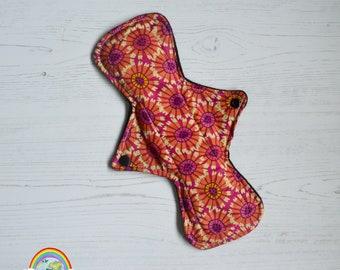 "ER Original - 11"" Night - Cotton - Abstract Flower - CSP - Menstrual Cloth"