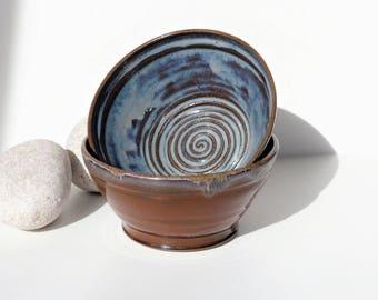 A Beautiful Breakfast - Soup - Salad - Noodles - Olives - Tapas Bowl Ceramic Stoneware  Wheelthrown UK