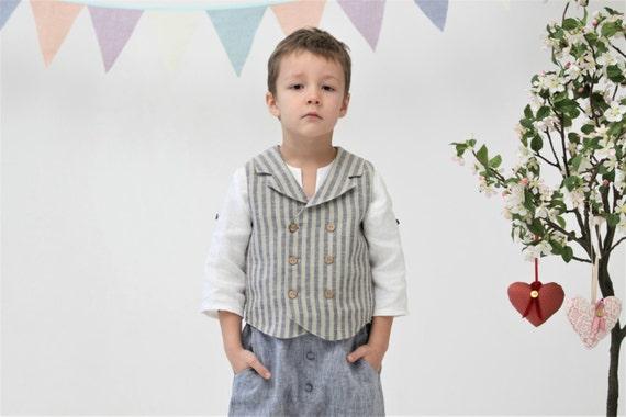Jungen Kleidung Ringträger Weste Hochzeit Partei Outfit | Etsy