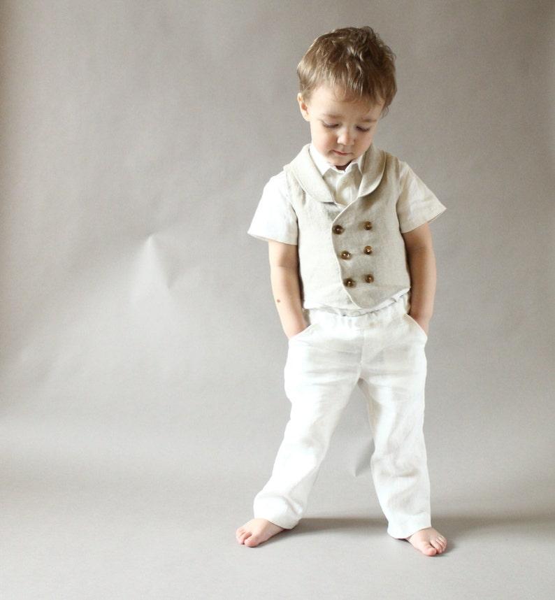 Baby Boy Pants Clothes Toddler Boys Linen
