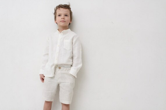 Pantaloncini Da Bagno Ragazzo : Ragazzi pantaloncini bambino ragazzo pantaloni di lino etsy