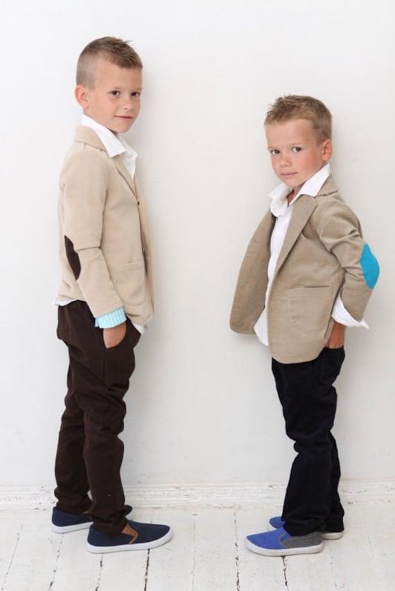 Jungen Blazer Jungen Hochzeit Outfit Taufe Ring Trager Anzug Etsy